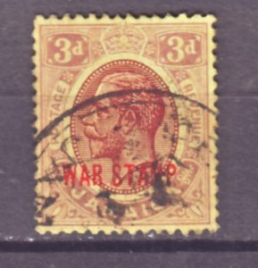 J22412 Jlstamps 1919 jamaica used #mr11 war stamp