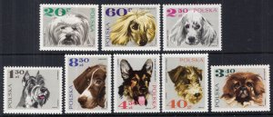 Poland 1636-1643 Dogs MNH VF