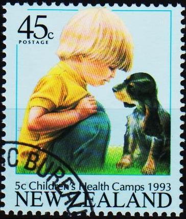 New Zealand. 1993 45c+5c S.G.1741 Fine Used