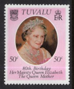 Tuvalu 137 Queen Mother MNH VF