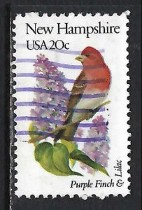 UNITED STATES 1981 VFU BIRD J507-1