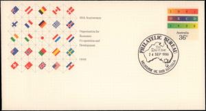 Australia, Postal Stationery, Flags