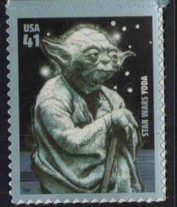 USA Scott 4205 Yoda self adhesive stamp Star Wars