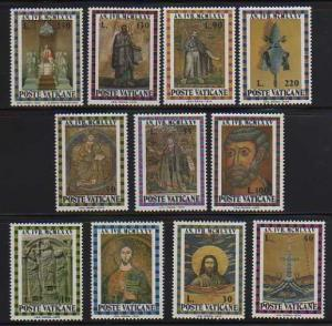 Vatican City MNH 561-71 Holy Year 1974