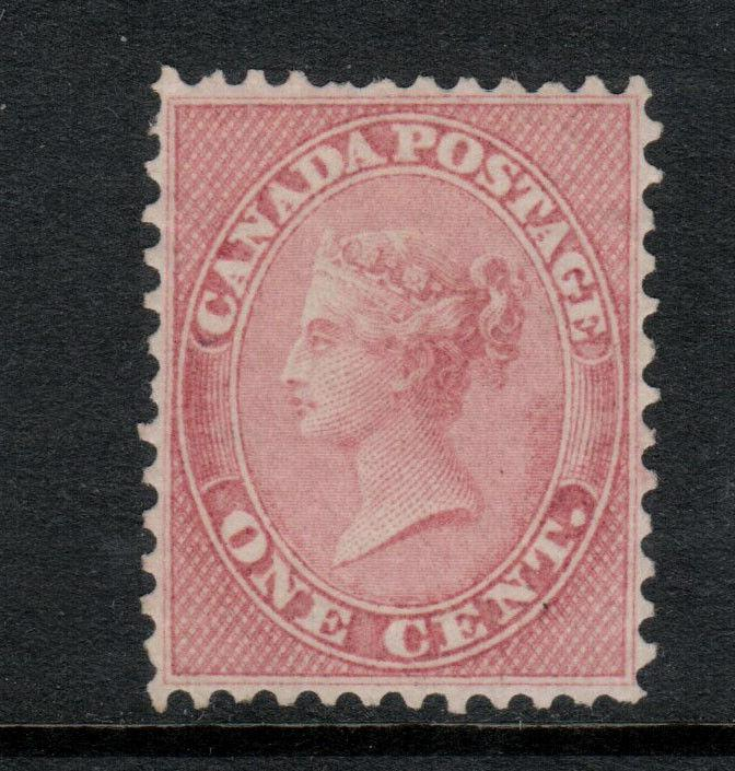 Canada #14 Extra Fine Mint Unused (No Gum) Gem **With Certificate**