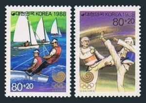 Korea South B51-B52,B51a-B52a,MNH.Michel 1551-52,Bl.542-543. Olympics Seoul-1988