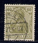 Germany Reich Scott # 126, used