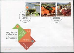 Croatia 2018. Protected Croatian Agriculture and Food Products (Mint) FDC
