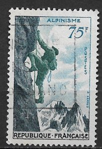 1956 France 804 Mountain Climbing used