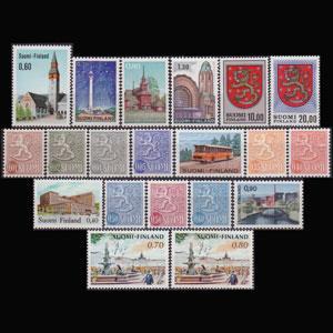 FINLAND 1968 - Scott# 457-70A Views Set of 20 NH