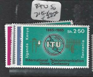 KENYA, UGANDA, TANGANYIKA   (PP0106B)  ITU  SG 215-8      MNH