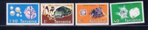 Tanzania 310-13 NH 1986 Gemstones