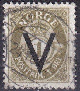 Norway #220  F-VF Used CV $6.00  (Z6618)