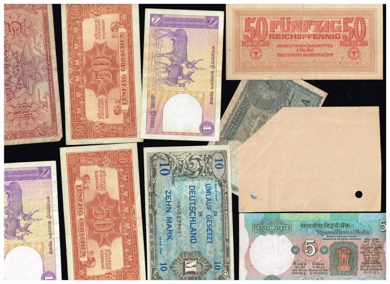 WORLDWIDE PAPER MONEY BANK NOTE COLLECTION LOT  F4