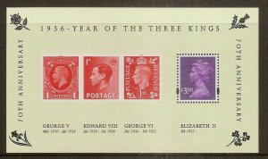 GB 2006 Year of the Three Kings Mini Sheet MNH