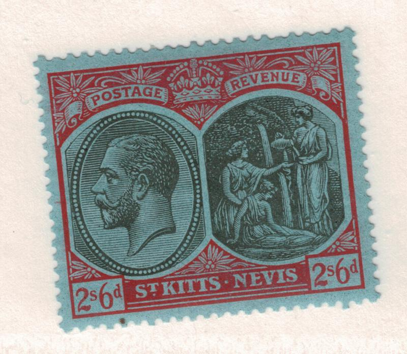 St. Kitts-Nevis Stamp Scott #50, Mint Hinged, Thin - Free U.S. Shipping, Free...