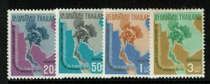 Thailand SC# 436-439, Mint Hinged, Hinge Rem, see notes - S13284