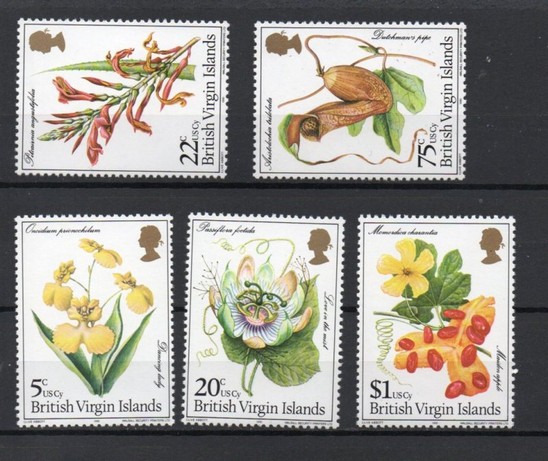Virgin Islands 401-405 MNH