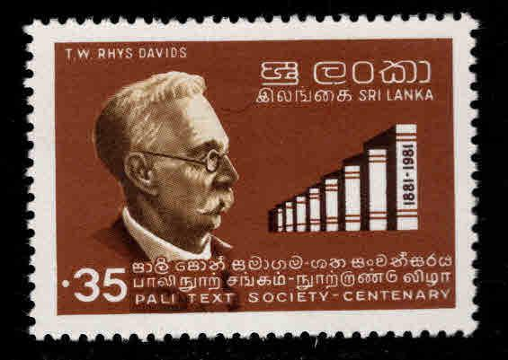 Sri Lanka Scott 614 MNH** 1981 stamp