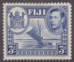 Fiji 122 Outrigger Canoe & Arms 1938