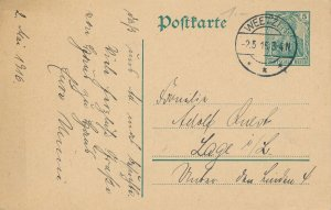 Card Germany 1915 Imperial Germany Reich Empire Weetzan