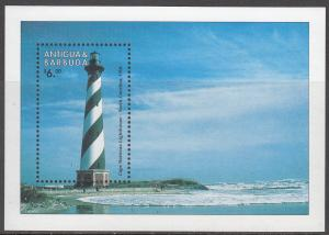 Antigua, Sc # 2148 (3), MNH, 1998, Lighthouse