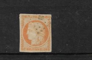 FRANCE  1849-52  40c  ORANGE  CERES  FU    SG 14