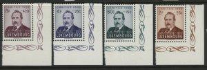 Luxembourg B170-B173 MNH mint Caritas semi-postal      (Inv 2017161)