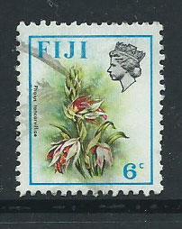 Fiji   QEII SG 459  FU Wmk sideways