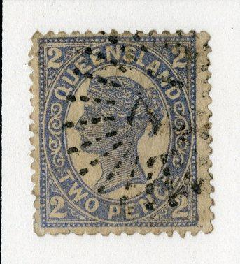 QUEENSLAND 114 USED SCV $7.50 BIN $3.00 ROYALTY