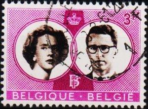 Belgium.1960 3f S.G.1766 Fine Used