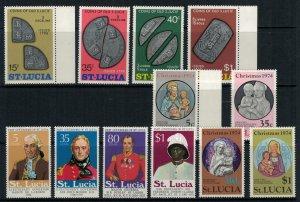 St. Lucia #355-66* NH  CV $3.50