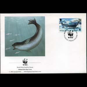 BR.ANTARCTIC TERR. 1992 - FDC-WWF Seal 4p(WG631)