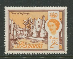 STAMP STATION PERTH Bermuda #186 QEII Definitive Issue MLH CV$3.50
