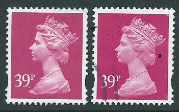 Great Britain - QE II Machin SG Y1708