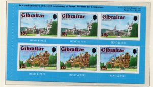 Gibraltar 1978 QEII Early Issue Fine Mint Unmounted 18p. NW-99276