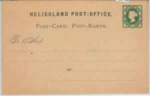 66768 - GERMANY Heligoland  - Postal History - STATIONERY CARD :  P1 1875