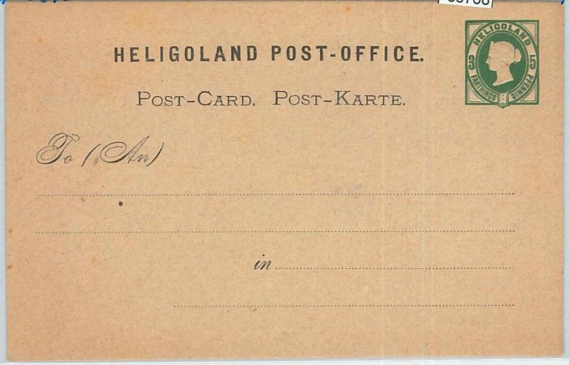 66768 - GERMANY Heligoland  - Postal History - STATIONERY CARD :  P1 1875