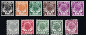 KEDAH    1950 - 55  S G 76 - 82    ALL  VALUES  + SHADES  TO 10C MH  CAT £55