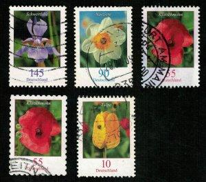 Flowers, Rare, Germany, (2858-Т)