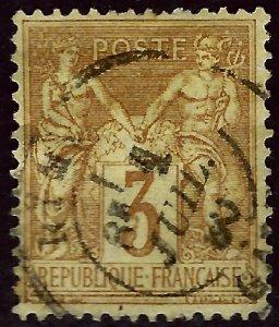 France #89 Used F-VF hhr SC$47.50...Collectors unite!