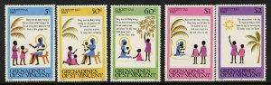 St Vincent Grenadines 194-8 MNH Christmas, Carol, De Borning Day