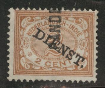 Netherlands Indies Scott o3 used 1911 official stamp
