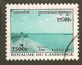 Cambodia    Scott  1660     Dam     Used