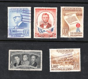 Stamps from HONDURAS