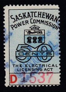 Canada, Saskatchewan (Revenue), van Dam SE21, used