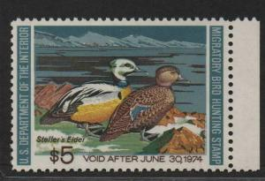 $US Sc#RW40 M/NH/XF 90 PSE Graded Cert., Duck Stamp, SMQ. $40