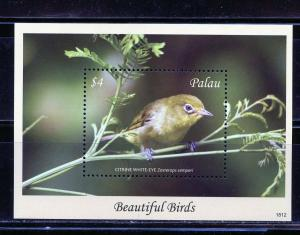 PALAU 2019  BEAUTIFUL BIRDS SOUVENIR SHEET MINT NEVER HINGED