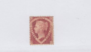 #32a * mint Great Britain - plate #1 - Cat$600 Queen Victoria