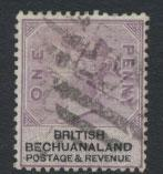 Bechuanaland  SG 10 Fine  Used